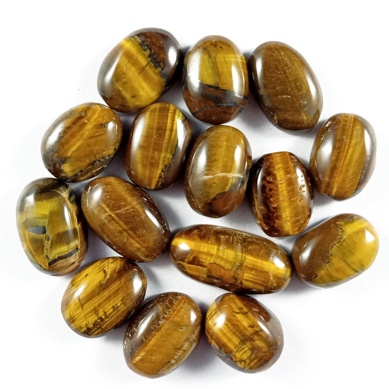 152CTS 1Pcs. WHOLESALE LOT NATURAL TIGER EYE OVAL CABOCHON LOOSE GEMSTONE