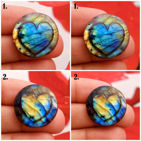 Natural Labradorite Carving Mix Shape Cabochon Loose Gemstone
