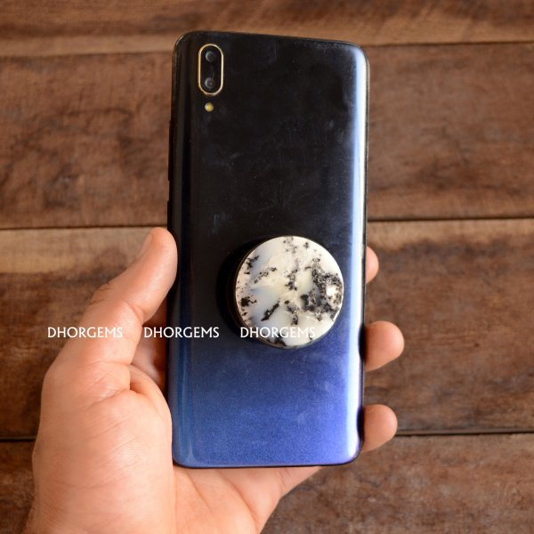 Dendritic Agate Pop Socket