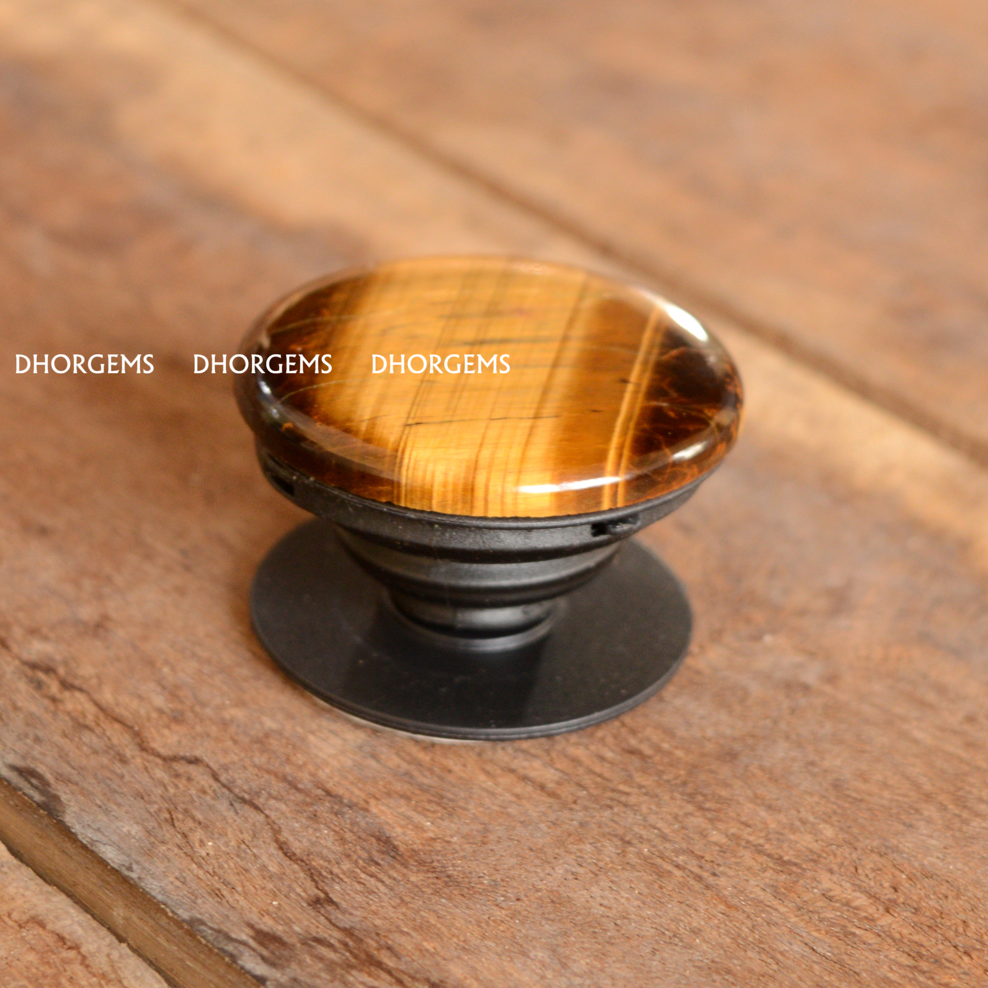 Tiger eye Pop Socket