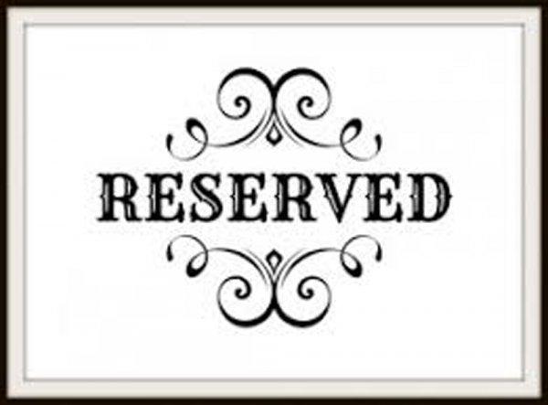 Reserved for Ari Hie