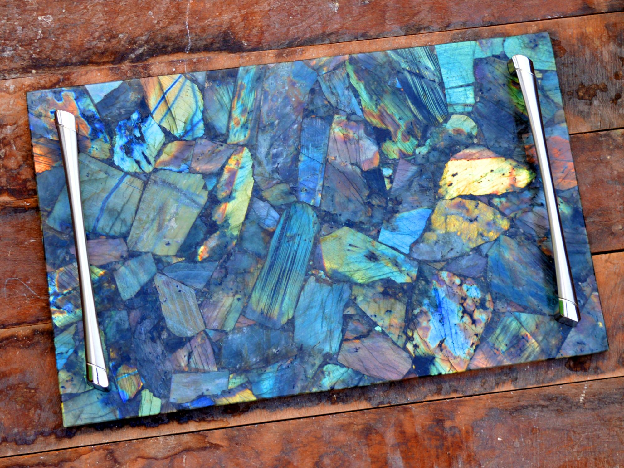 Labradorite Serving Tray